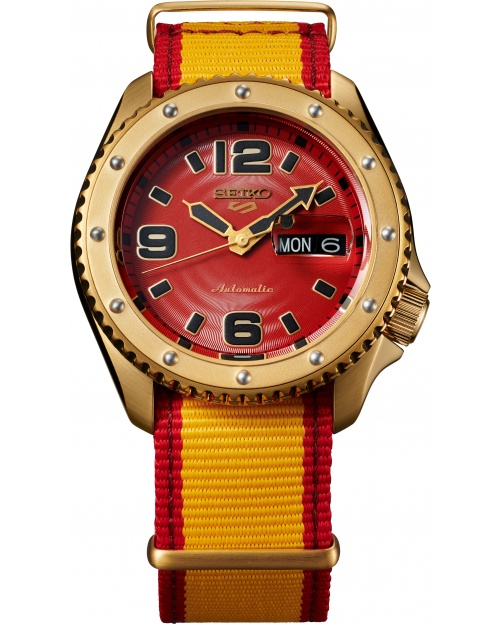 Seiko 5 Sports Street Fighter V Limited Edition ZANGIEF - Iron Cyclone SRPF24