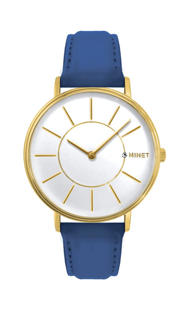 MINET BROADWAY SAILOR BLUE + GOLD MWL5031