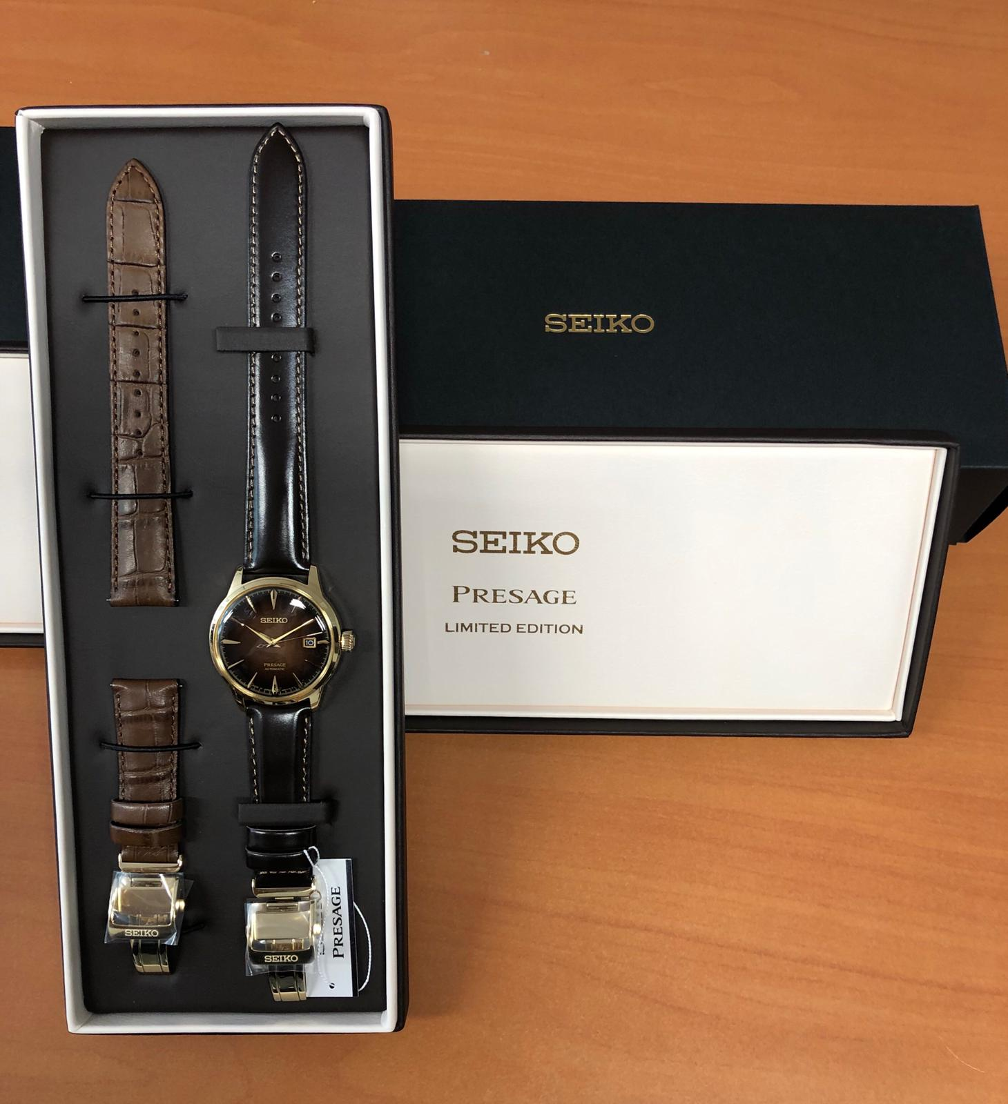 Seiko SRPD36J1 Limited Edition