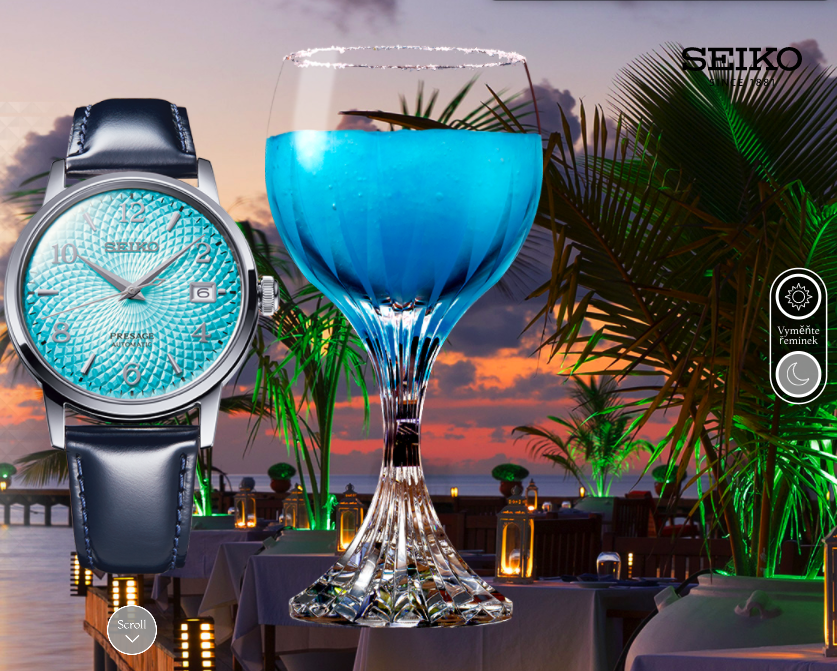 Seiko Presage Cocktail Time Frozen Margarita Limited Edition SRPE49J1