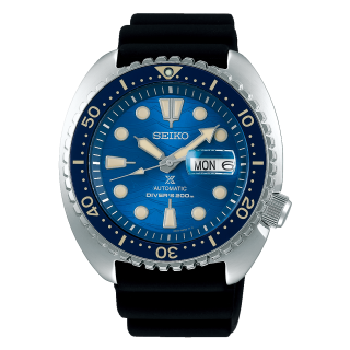 "Seiko Prospex SRPE07K1 Save the Ocean Great White Shark Special Edition ""King Turtle"""
