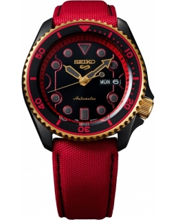 Seiko 5 Sports Street Fighter V Limited Edition KEN - Rush 'n' Blaze SRPF20